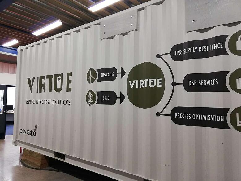 Powerstar Virtue Energy Storage Solution
