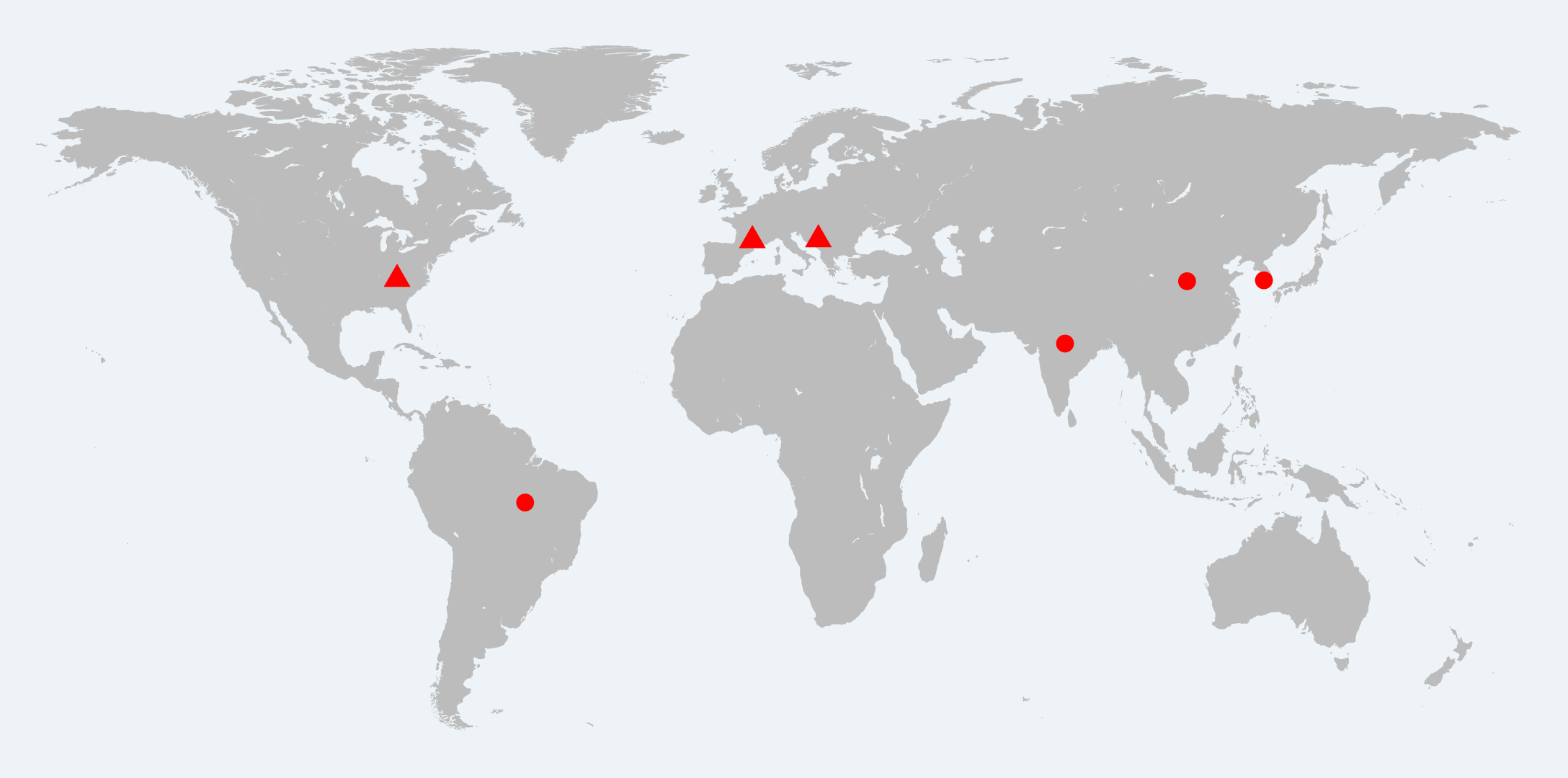 Typhoon HIL Offices and Global Distributors