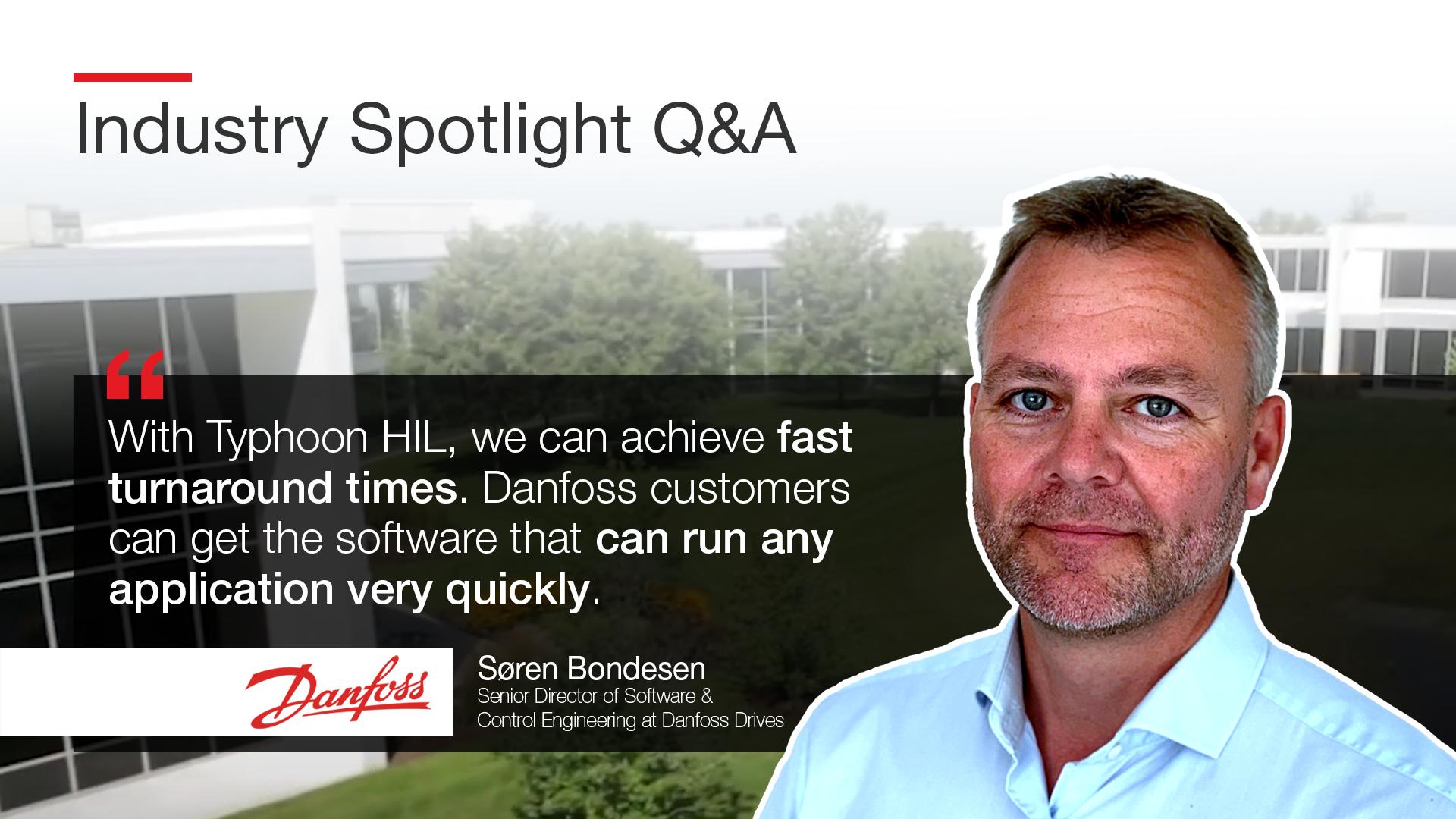 Spotlight Q&A HEROIMAGE - Soren Danfoss